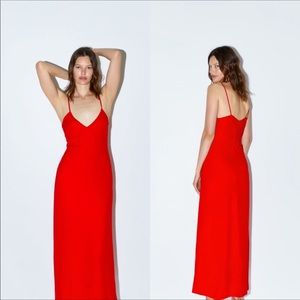Zara maxi dress limited edition